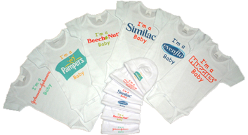 embroidered burp cloths personalized burp cloths customized clothing baby burp cloth logo apparel customized t shirt personalized shirts personalized hats promotional wear personalized tshirts